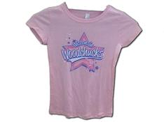 Toddler Pink Woodchucks T-shirt